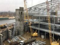 "ІБК Центробуд | монтаж металевих конструкцій | ""River Mall"""