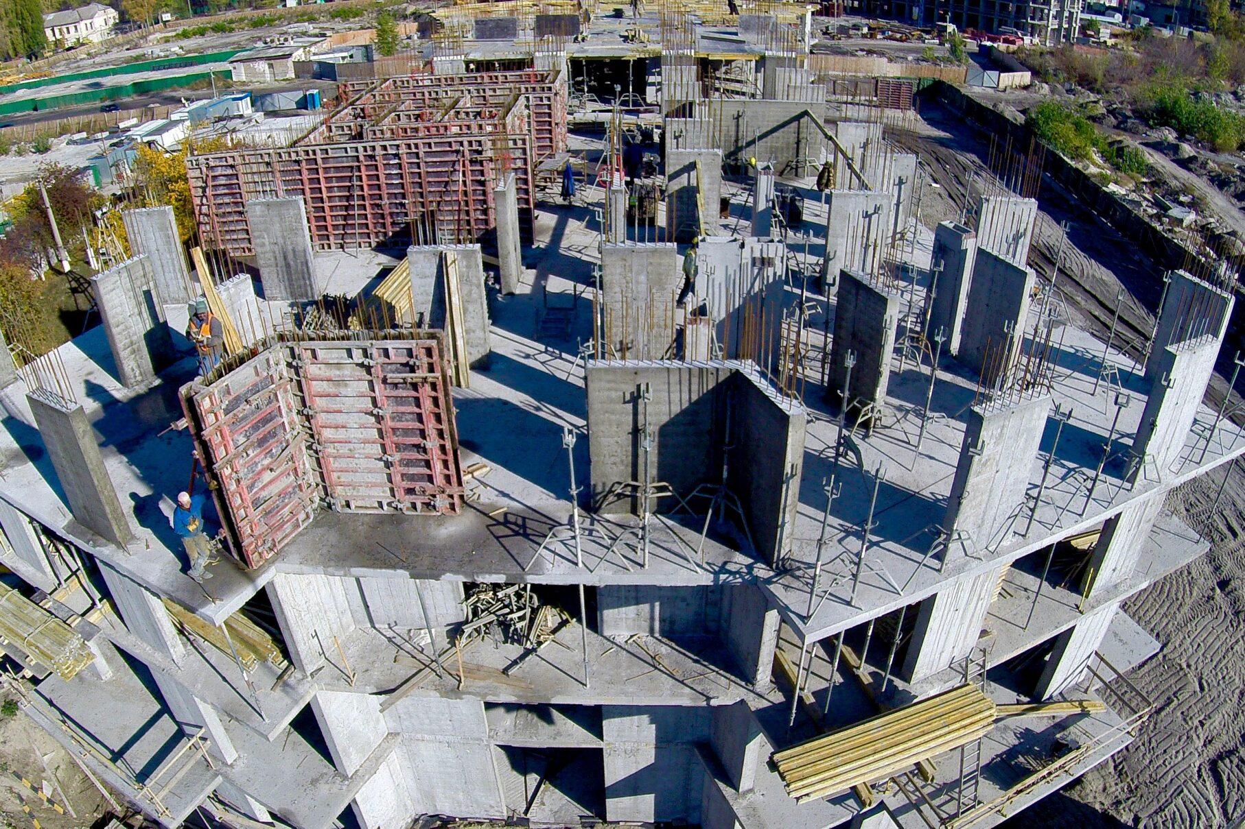 ІБК Центробуд | Монолітні роботи