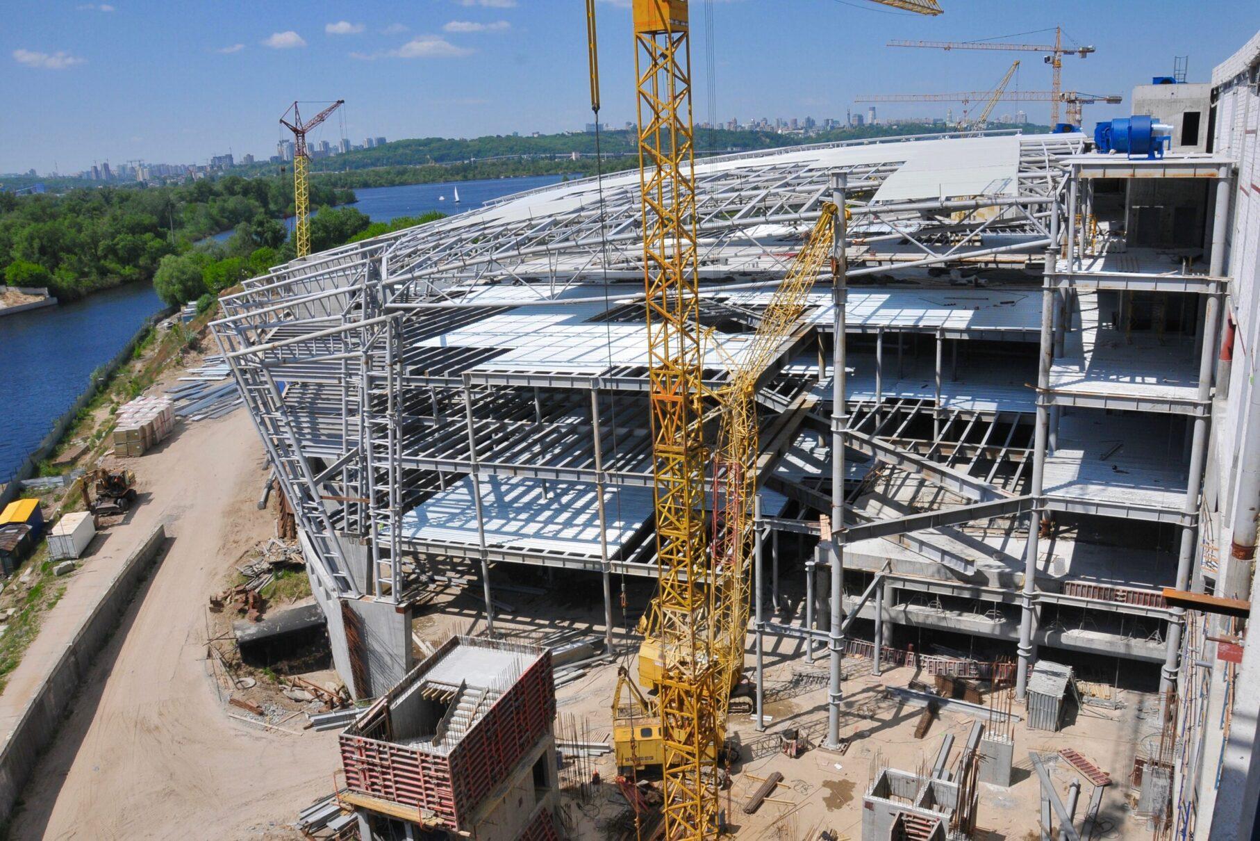 ІБК Центробуд | Монтаж складних метало-конструкцій