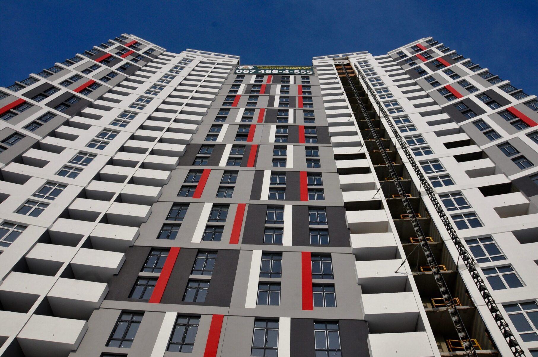 Фасадні роботи | ІБК Центробуд