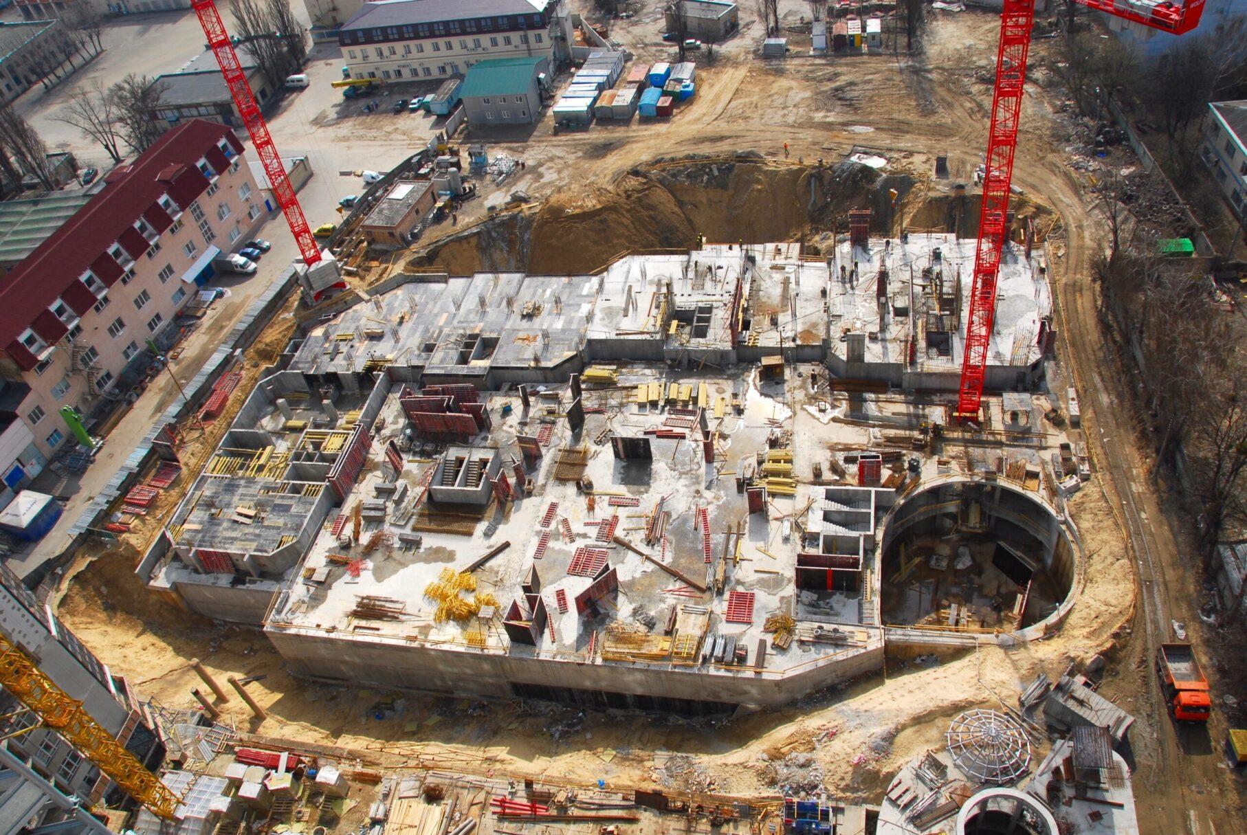 Как строился ЖК Космополитен | ІБК Центробуд